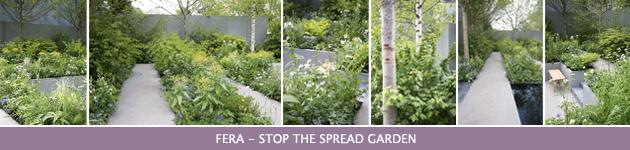 2013 Chelsea Flower Show, FERA - Stop the Spread Garden, Jo Thompson