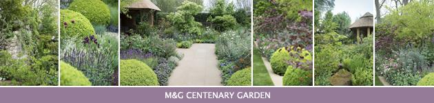 2013 Chelsea Flower Show, M&G Centenary Garden – Windows through Time, Roger Platts
