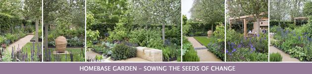 2013 Chelsea Flower Show, Homebase Garden–Sowing the Seeds of Change, Adam Frost