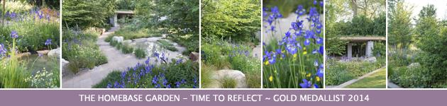 2014 Chelsea Flower Show, The Homebase Garden-Time to Reflect, Adam Frost